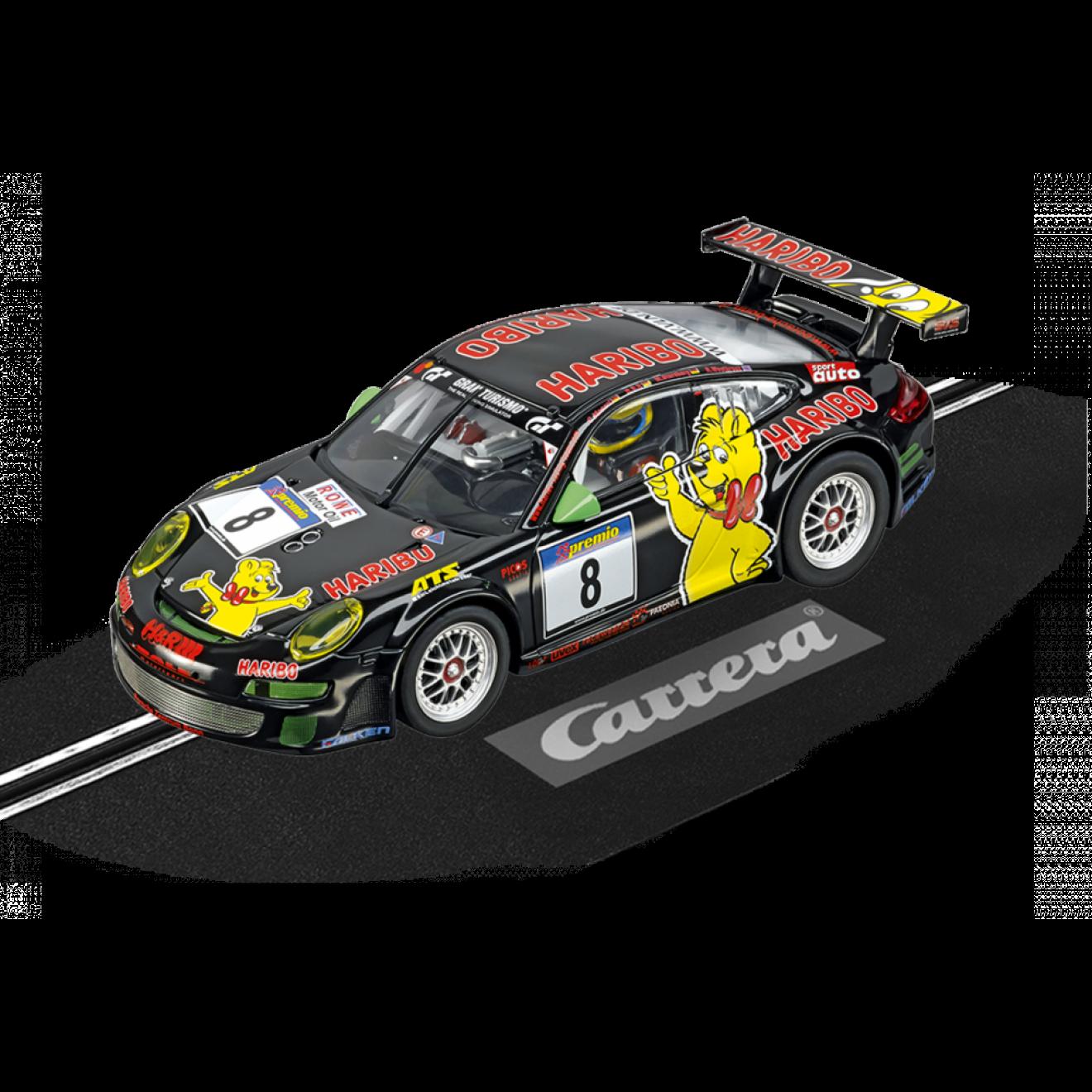 """Porsche GT3 RSR """"Haribo Racing"""", Modellbau Fischer"""