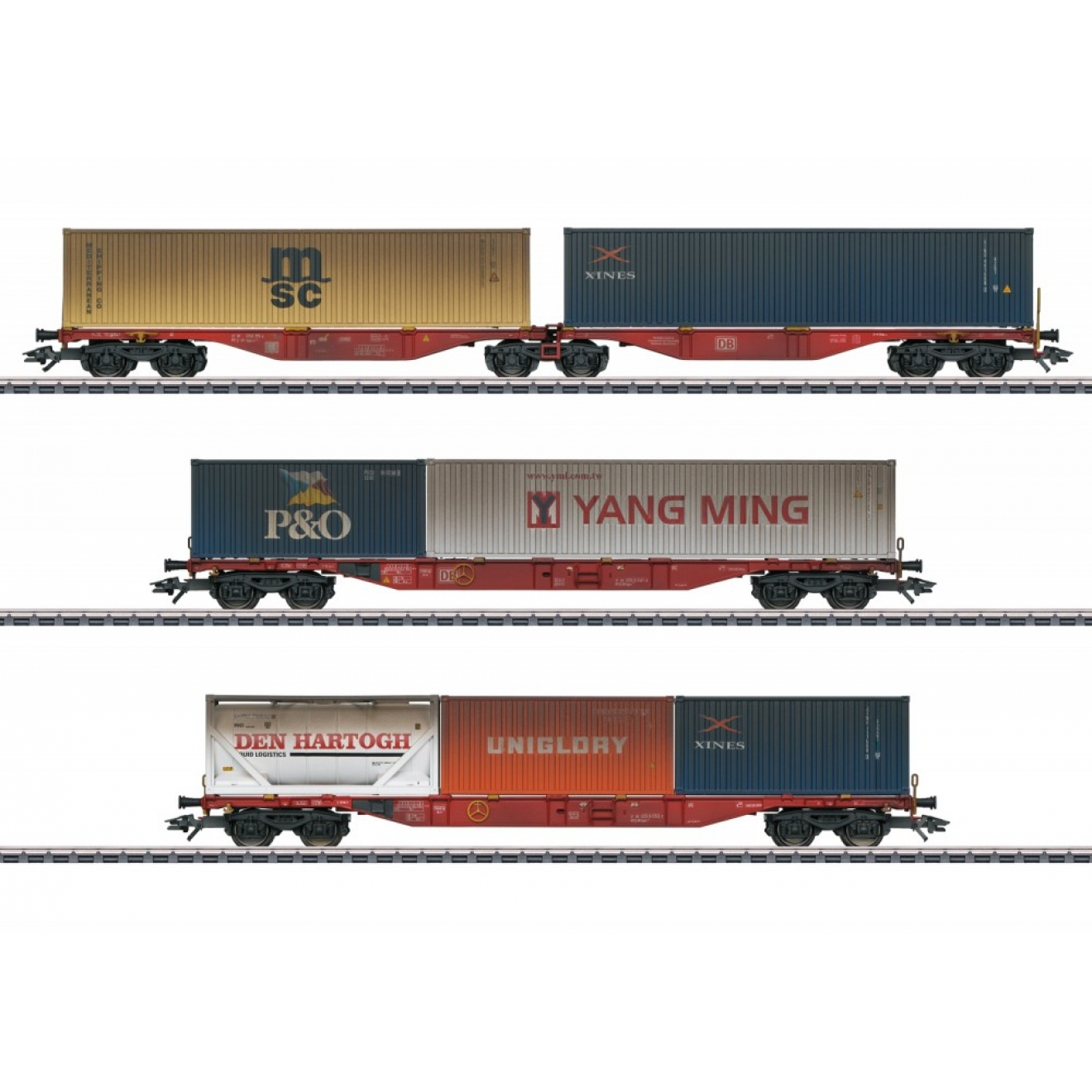 Container-Tragwagen-Set